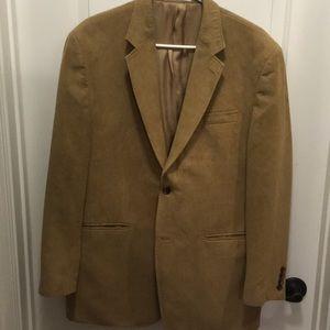 Men's 40R camel hair jacket